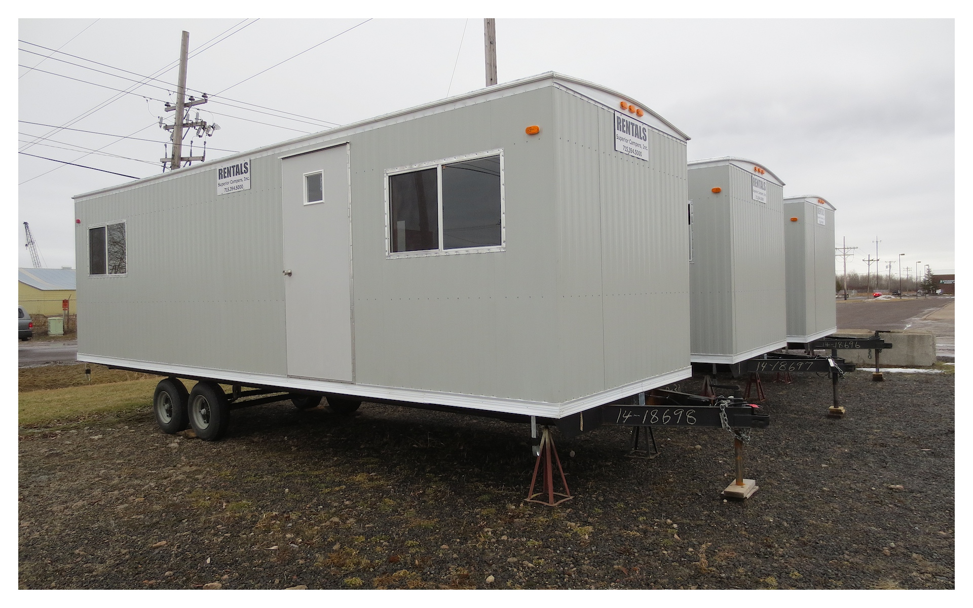 Construction Job  Used Construction Job Site Trailers